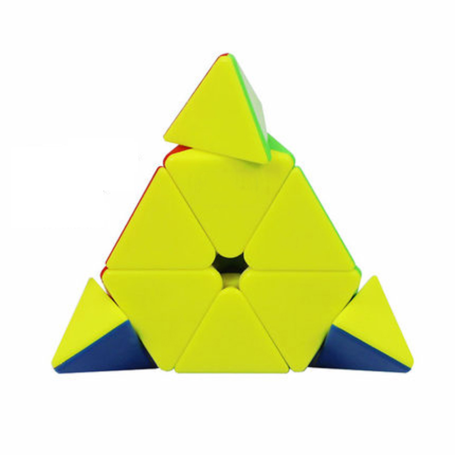 Pyraminx magic cube plastic triangle cube professional speed pyraminx magic cube plastic triangle cube professional speed square 3 layer cubo magico anxiety toy game logiczne gift 80d0510 in magic cubes from toys jeuxipadfo Images