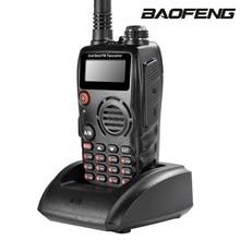 Baofeng A52 Ham Transceiver Dual Band Interphone VHF/UHF 136-174/400-470MHz 5W Transmit Power Multifunction Interphone