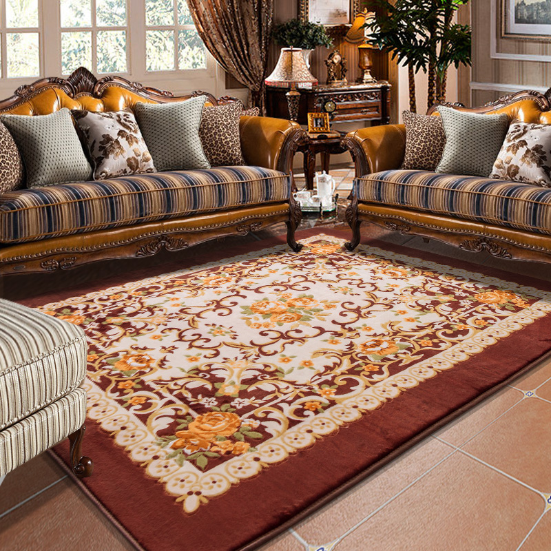 Living Room Large Carpet Floor Mat For Home Dining Room