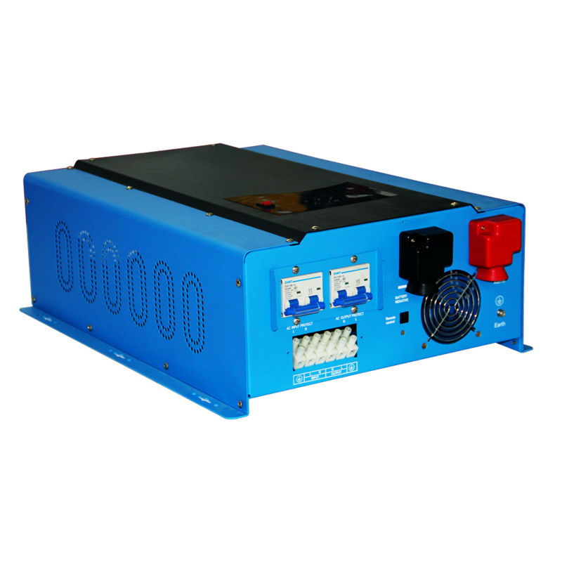 MAYLAR@ PSW7 8000W 96V 220vac/240vac DC to AC Power Inverter Pure Sine Wave Off Grid Solar Inverter Built in Battery Charger solar power on grid tie mini 300w inverter with mppt funciton dc 10 8 30v input to ac output no extra shipping fee