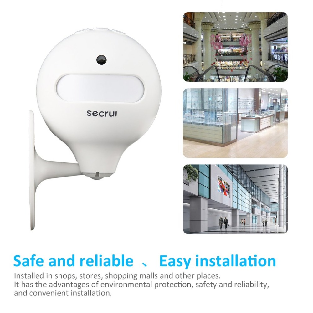 Welcome Device Shop Store Home Welcome Chime Wireless Infrared IR Motion Sensor Door Bell Alarm Entry Doorbell mool welcome chime door bell motion sensor wireless alarm