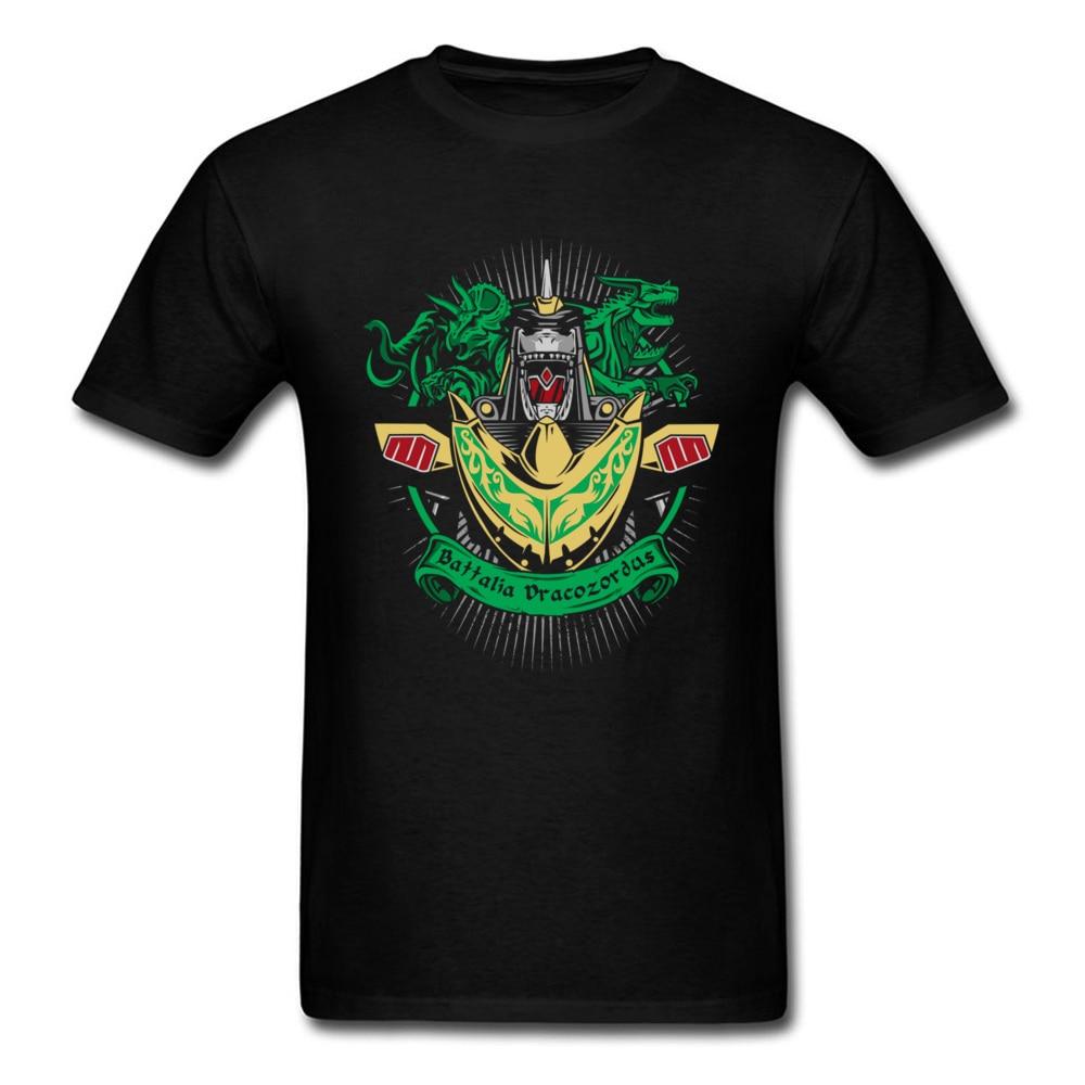 Battalia Dracozordus Tee Men Black T Shirt Japan Chic Anime Tshirt Warrior Game T-shirt Summer Cool Clothing Cotton Top