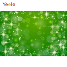 Yeele Wallpaper Green Glitter Snow Bokeh Light Decor Photography Backdrop Personalized Photographic Backgrounds For Photo Studio