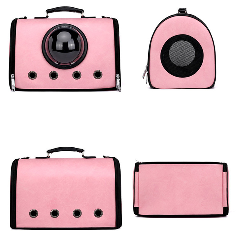 pet backpack product Cat Carriers Bags Soft Side Cat Carrier Outdoor Travel shopping Space Capsule for large cat Party AprT5