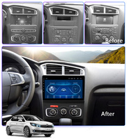 Super Slim Touch Screen Android 8.1 radio GPS Navigation for Citroen C4L 2013 2017 headunit tablets Stereo Multimedia Bluetooth