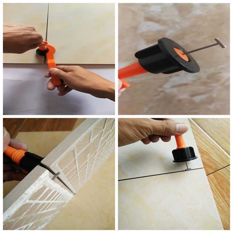 Reusable Construction Tile Locator Aids Tool Alignment Leveling Adjustable Locator For Flooring Wall Tile Carrelage Leveling
