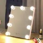 LED Make Up Licht Spiegel Beauty Hollywood 9 Lampen spiegelgalerij Cosmetische Tafel Spiegel led maquillage Warm Koud Licht lusterko