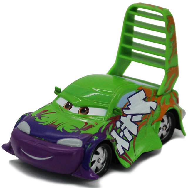Disney Hot Movie Pixar Cars Lightning Mcqueen Groen Wingo Echt Auto