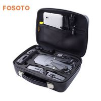 fosoto DJI Mavic Pro Case Drone Bag for DJI Mavic Pro EVA Hard Portable Bags Shoulder Foldable Portable Remote Controller Box