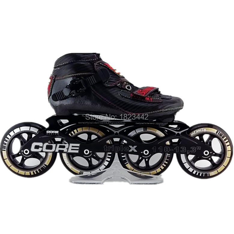 Speedskates--Simmons M1 inline skating shoes Professional adult child roller skates with ps  wheels speed skate adult s roller skates inline skating f2 2013 white and black flying eagle f2