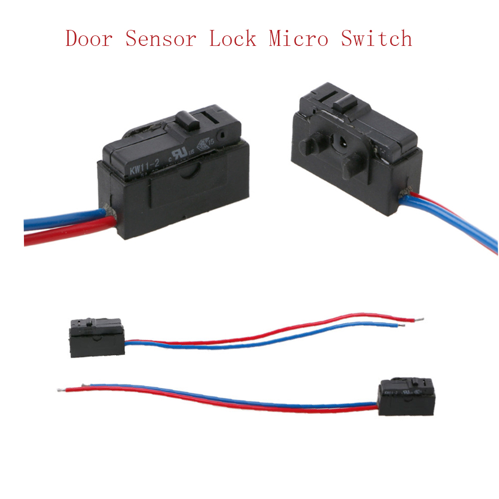 Lock Micro Switch Door Sensor For Octavia Golf 4 Mk4 Fabia Superb Microswitch Passat B5 Bora In Car Switches Relays From Automobiles Motorcycles On