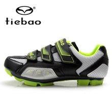 0545a1a7e Ginnastica Tiebao Sapatos Anti-slip Sneaker Atlético Sport Sapatos  Sapatilhas Corridas de Estrada Da Bicicleta