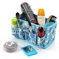 PY033 Maquiagem organizador Dobrável Multifuncional Desktop Caixa De Armazenamento Não-tecido cesta De Cosméticos caneta titular do telefone Acessórios