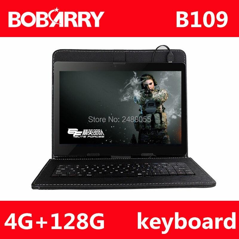 10.1 pouce en métal tablet PC B109 Android tablet pc appel Téléphonique octa core 4 gb RAM 128 gb ROM Double SIM GPS IPS FM bluetooth comprimés