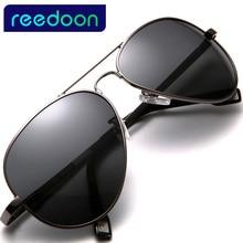 2017 REEDOON UV400 Pilot Yurt Sun Glasses Men Polarized Sunglasses Brand Logo Design Driving Glasses Goggles Oculos de sol 4025