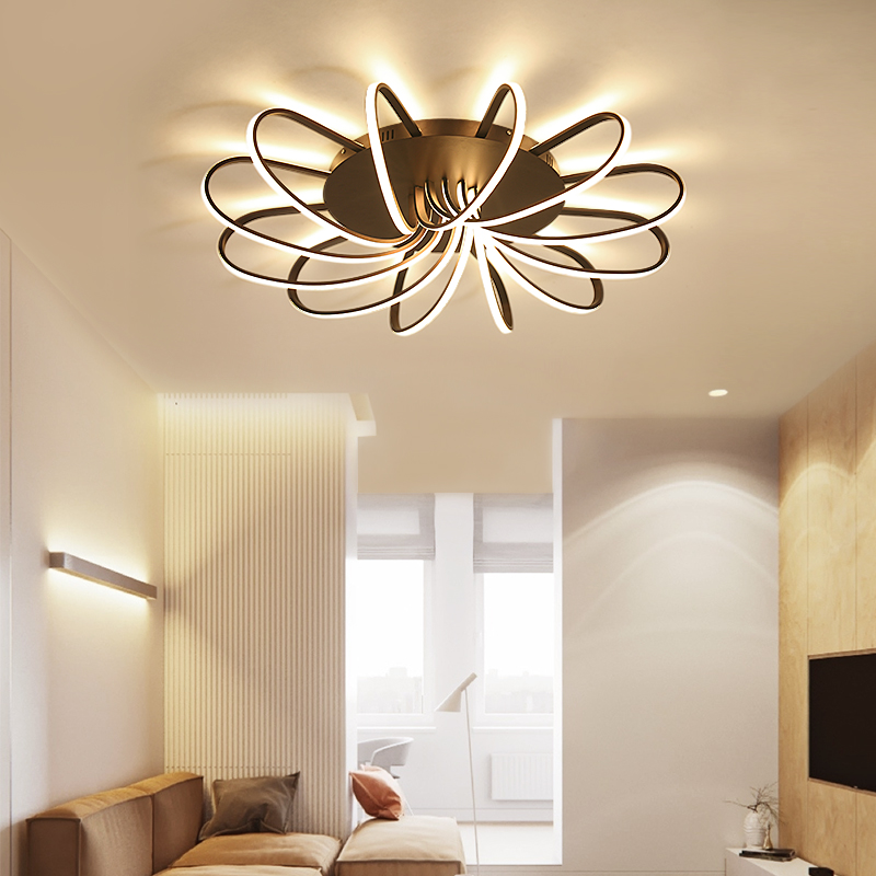 Surface Mounted Modern Led Ceiling Lights For Living Room luminaria led Bedroom Fixtures Indoor Home Ceiling Lamp 2018 New