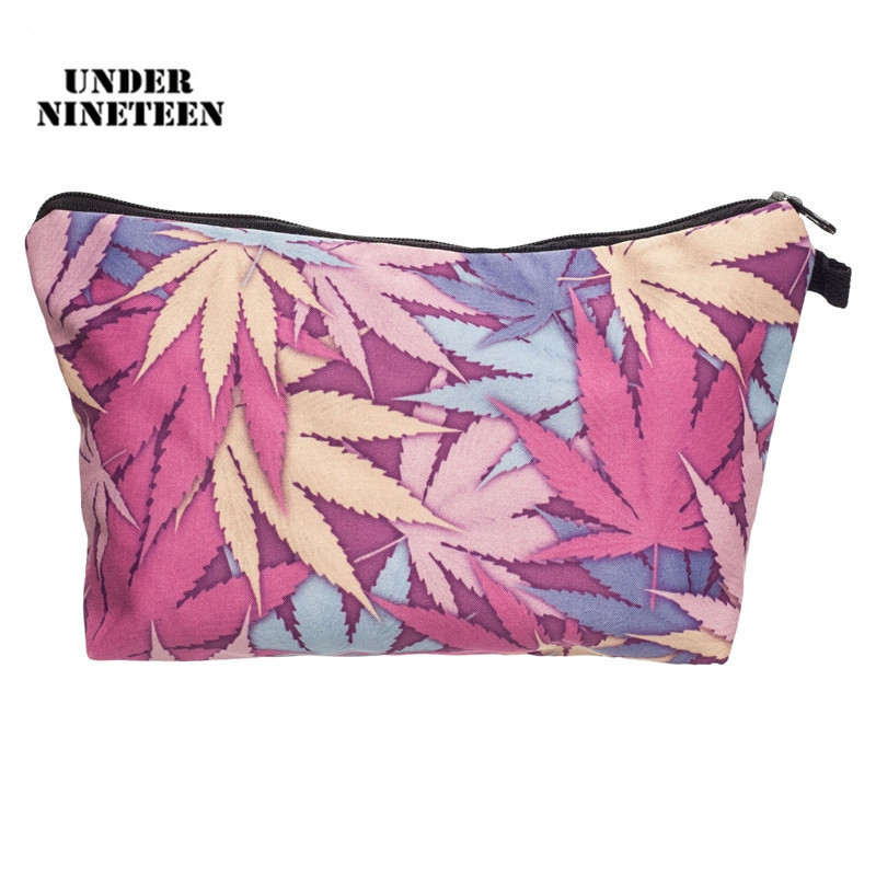 Under Nineteen 2017 Fashion Travel Makeup Organizer Pouch Large Capacity Female Cosmetic Bag Beauty Toiletry Wash Bath Bag Gifts