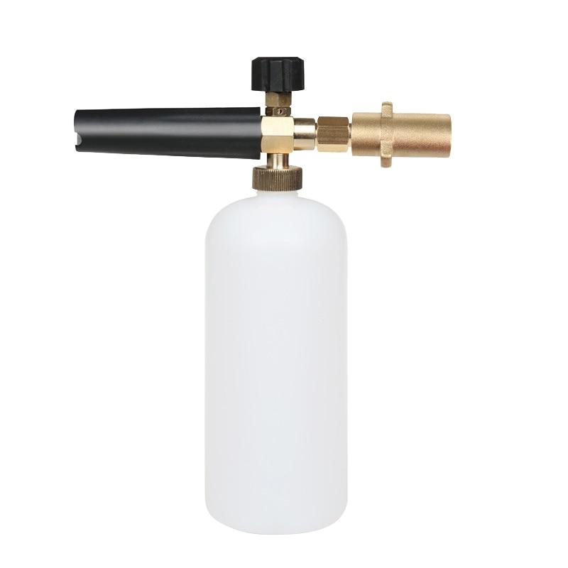 High Pressure Foam Gun Car Washing Machine Copper Car Pure Brass Faucets Washer Connector Weapon Interface Accessories