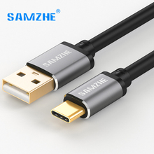 SAMZHE USB2.0 Type C Cable Silver/Black/Pink Shell Android Data transmission Cable 0.25m/0.5m/1m/1.5m/2m USB2.0 Wire
