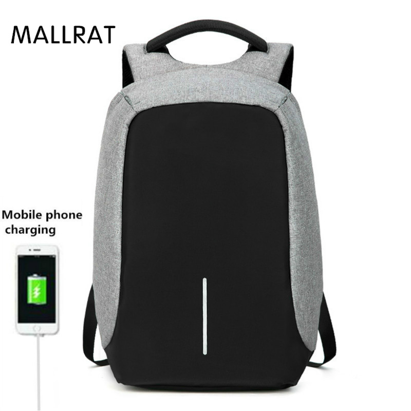 MALLRAT Anti Thief Multifunction USB charging Travel backpack Men 16inch Laptop Backpacks For Teenager Male Mochila Leisure multifunction usb charging men 14 15 inch laptop backpacks for teenager fashion male mochila leisure travel backpack anti thief