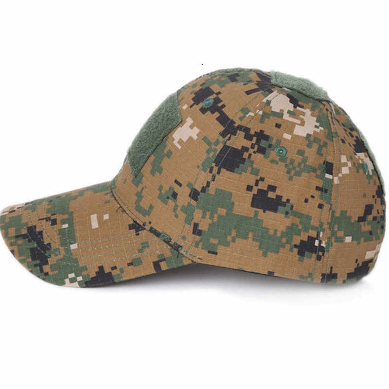 fd46085908850 ... Army Military Camouflage Tatical Cap Airsoft Paintball Outdoor Hunting  Baseball Caps Men Multicam Soldier Combat Sun ...