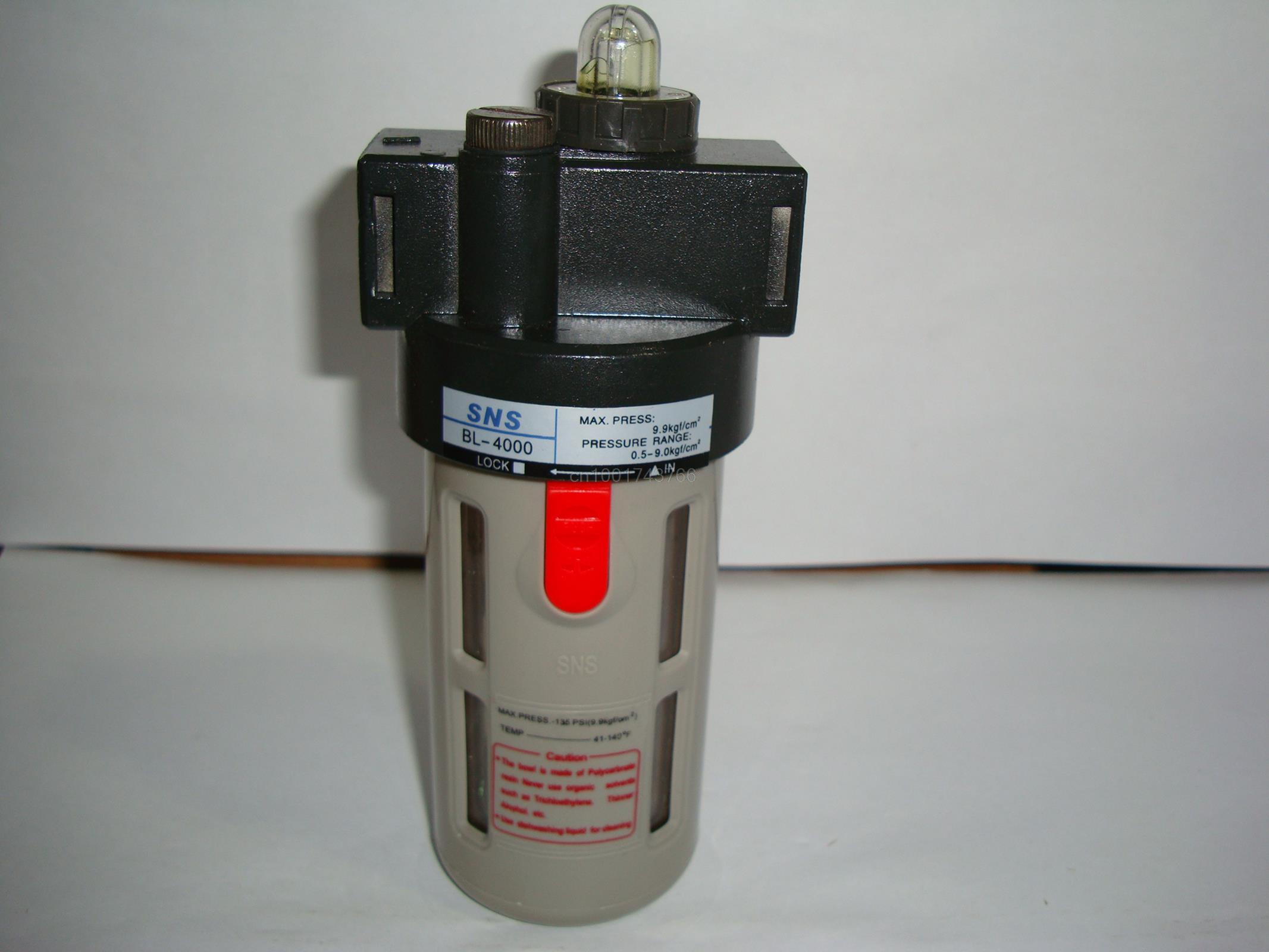 Rapture pneumatic components SNS lubricator  BL4000 1/2BSPT water separator air source treatment the rapture