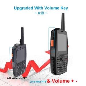 Image 5 - A18 IP68 עמיד למים GPS WCDMA GSM Smartphone כרטיס Zello נייד UHF 400 470 PTT ווקי טוקי טלפון 3800mAh מגע מסך