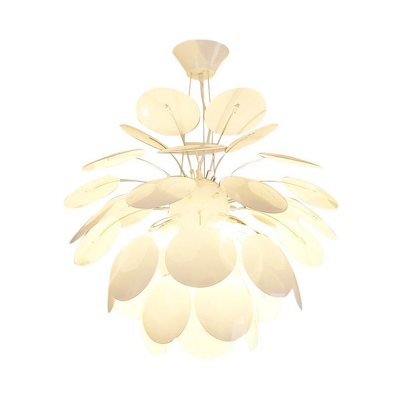 Nordic Nut Model Creative Restaurant Pendant Light E27 bulb white Iron Lampshade Bar Bedroom Cafe Hotel Hanging Light Fixture creative design pendant light iron lampshade decoration for parlon bedroom coffeeshop 18 22cm e27 bulb edison