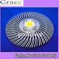 1pcs 90mm*10mm Round Spiral Aluminum Heat sink for 10W Watt High Power LED Lamp