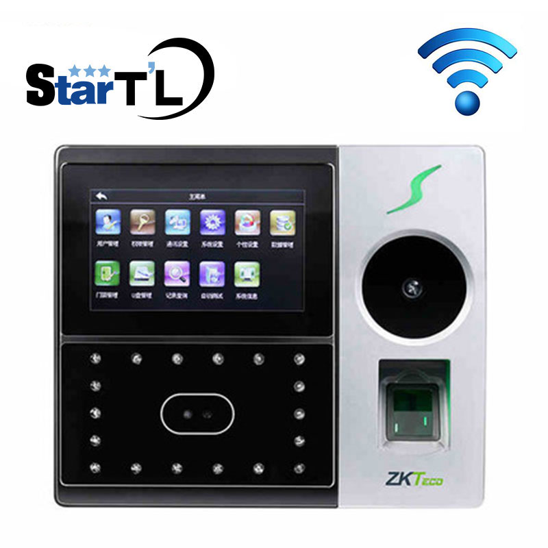 Iface702 Wifi Palm Time Attendance Employee Hybird Biometric Electronic Attendance Face Fingerprint Time Clock