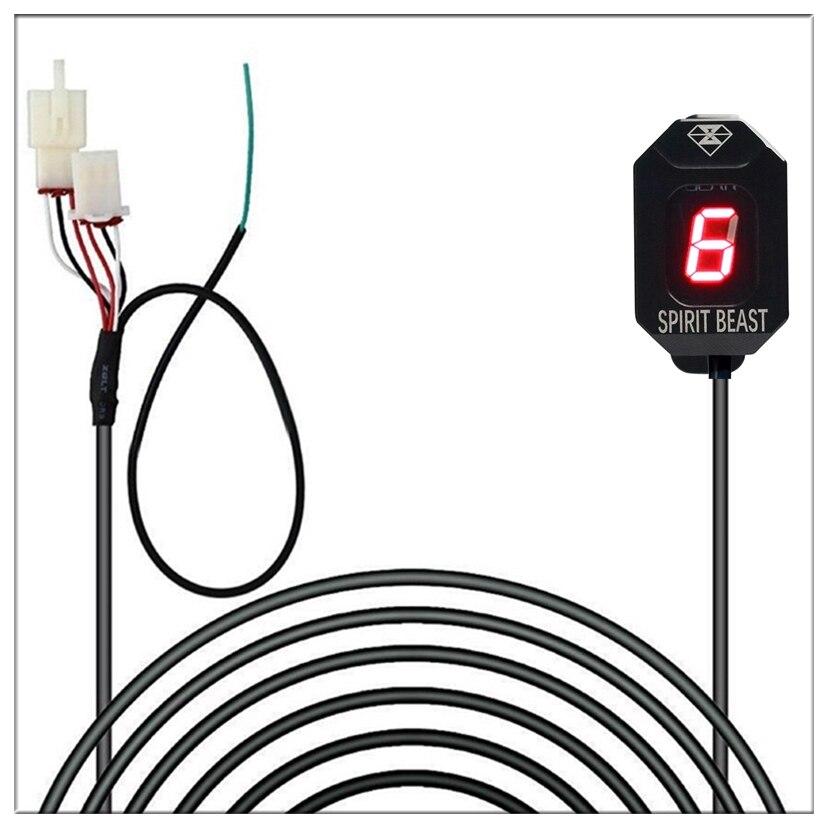 Gear Indicator For Honda Hornet CB600F F2 F3 F4 F4i CB650F CB500X VFR800 Fi 900RR 919RR 929RR 954RR SHADOW 750 Gear Display 1-6 изменение honda cbr600 f5 f4 f4i cbr929 954rr cbr1000rr светодиодные очередь сигналы