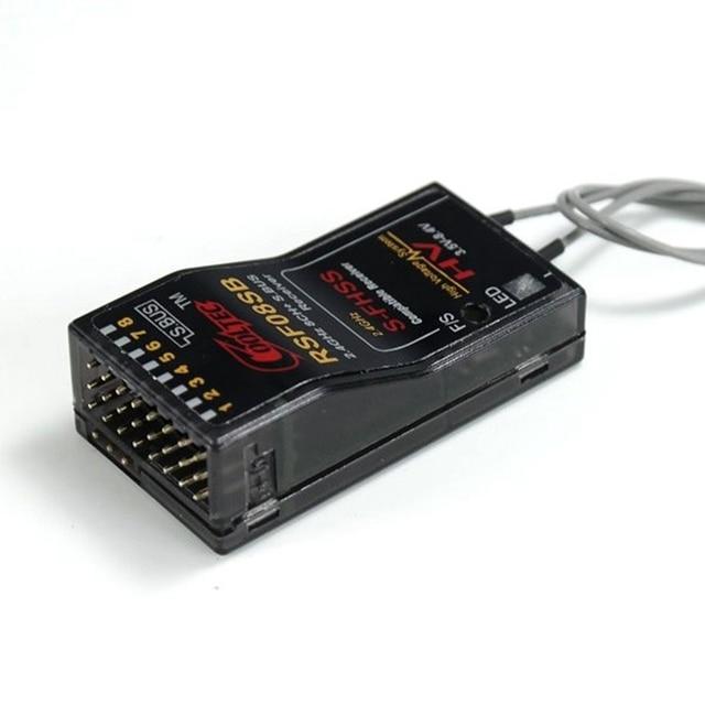 Feiying CoolTec RSF08SB 8CH Ricevitore Compatibile per Futaba S FHSS S.BUS 10J 8J 6J 4GRS 4PX Trasmettitore
