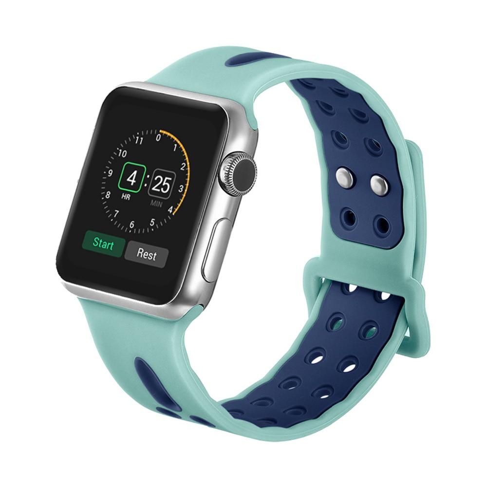 LNOP di sport della cinghia del silicone per apple watch band 42/44mm iwatch serie 4/3/2/1 38/40mm banda di sostituzione Della Cinghia di nike del braccialetto del polso