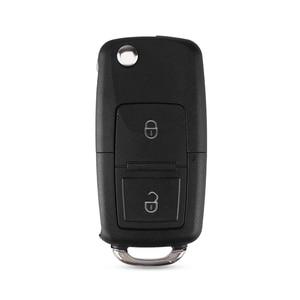 Image 2 - KEYYOU 2 Buttons Remote Flip Folding Car Key Shell for VW Volkswagen MK4 Bora Golf 4 5 6 Passat Polo Bora Touran