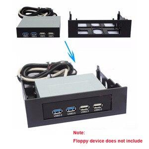 Image 5 - En labs 3.5 ~ 5.25 플로피 광학 드라이브 베이 장착 브래킷 변환기 전면 패널, 허브, 카드 판독기, 팬 속도 컨트롤러 용