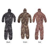 Lixada Military Camouflage Ghillie Suit Hunting Clothing Leaf TACTICAL GHILLIE Suit Camouflage Hunting Shade Cloth Free Size