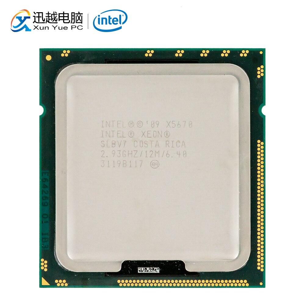 Intel Xeon X5670 Desktop Processor Six-Core 2.93GHz SLBV7 L3 Cache 12MB LGA 1366 SLBV7 5670 Server Used CPU
