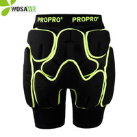 PROPRO Snowboard Shorts Men Women Rubber Pads Hockey Hip Protector Ski Skating Butt Brace Roller Cycling Sports Gear Protection