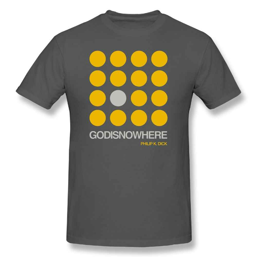 60b2d569189 ... Disturbed T Shirt Philip K. Dick Quote - GODISNOWHERE - Double Meaning  Cotton T- ...