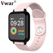 Vwar W4 Smart Watch IP67 Waterproof Heart Rate Monitor Blood Pressure SmartWatch Men Women Multiple Sport Mode for Xiaomi APPLE