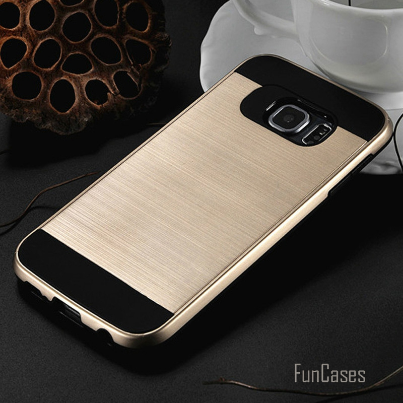 V5 Plastic Armor Case For Samsung Galaxy S7 edge S6 Edge Plus S5 S4 Silicon Case For Galaxy Note 5 4 Note 3 Back Covers TPU case