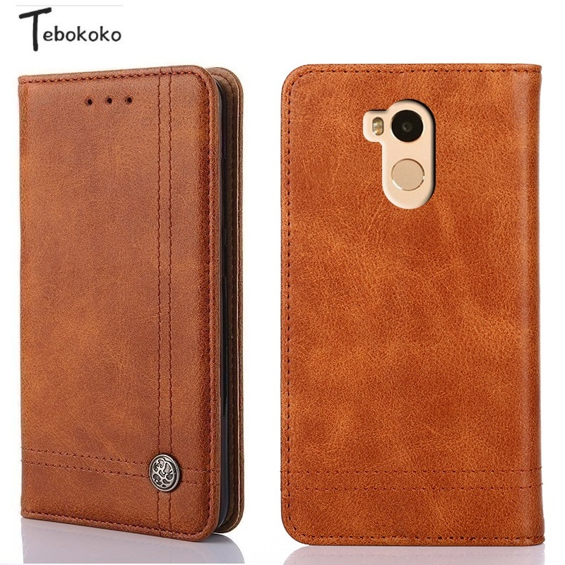 Leather Flip Case for Xiaomi Redmi 4 Pro Cover Vintage Card Slot Holder Stand Wallet Case for Xiaomi Redmi 4 Prime 5.0'' Funda