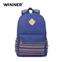 Победитель в богемном стиле Дизайн школьные сумки для девочек печати холст женщины рюкзак сумка рюкзак школьные рюкзаки для подростка Mochila
