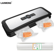 LAIMENG Vacuum Sealer Food Automatic Sealing Machine Vacuum Packaging For Food Grade Plastic Vacuum Bags Package Rolls S231(China)