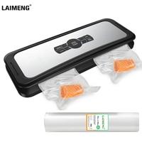 LAIMENG Vacuum Sealer Food Automatic Sealing Machine Vacuum Packaging For Food Grade Plastic Vacuum Bags Package Rolls S231