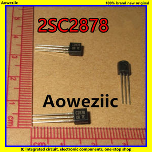 10Pcs/Lot 2SC2878 C2878 TO-92 NPN 50V 0.3A 30M Power Transistor New Original Product