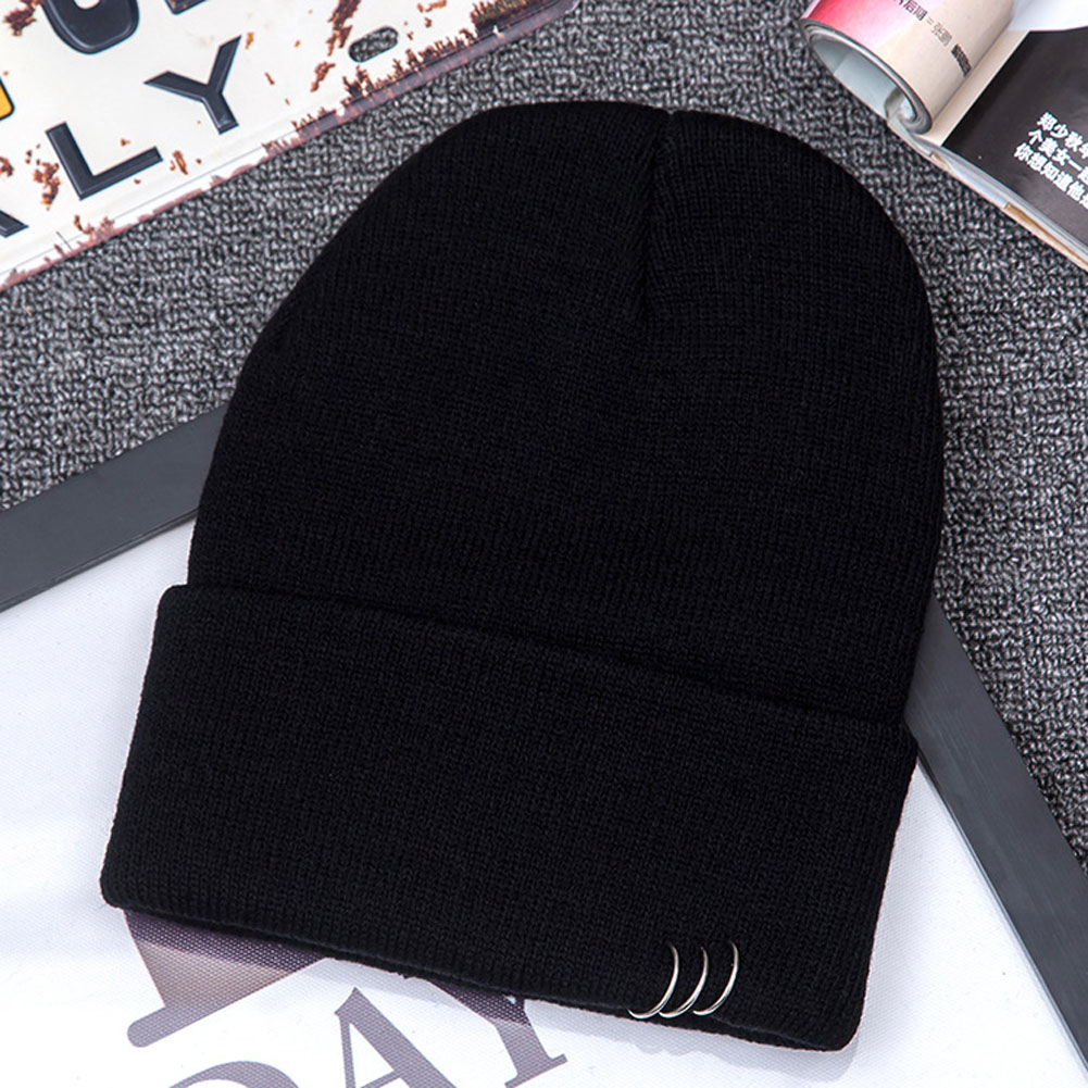 Unisex Fashion Unisex Women Men Winter Hat beanies bonnet femme Slouch Baggy Hip Hop Knit Crochet Cap Beanie hot winter beanie knit crochet ski hat plicate baggy oversized slouch unisex cap