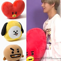 45X55cm Kpop Home Bangtan Boys BTS Monster Vapp Bt21 Same Pillow Warm Bolster Q Back Cushion