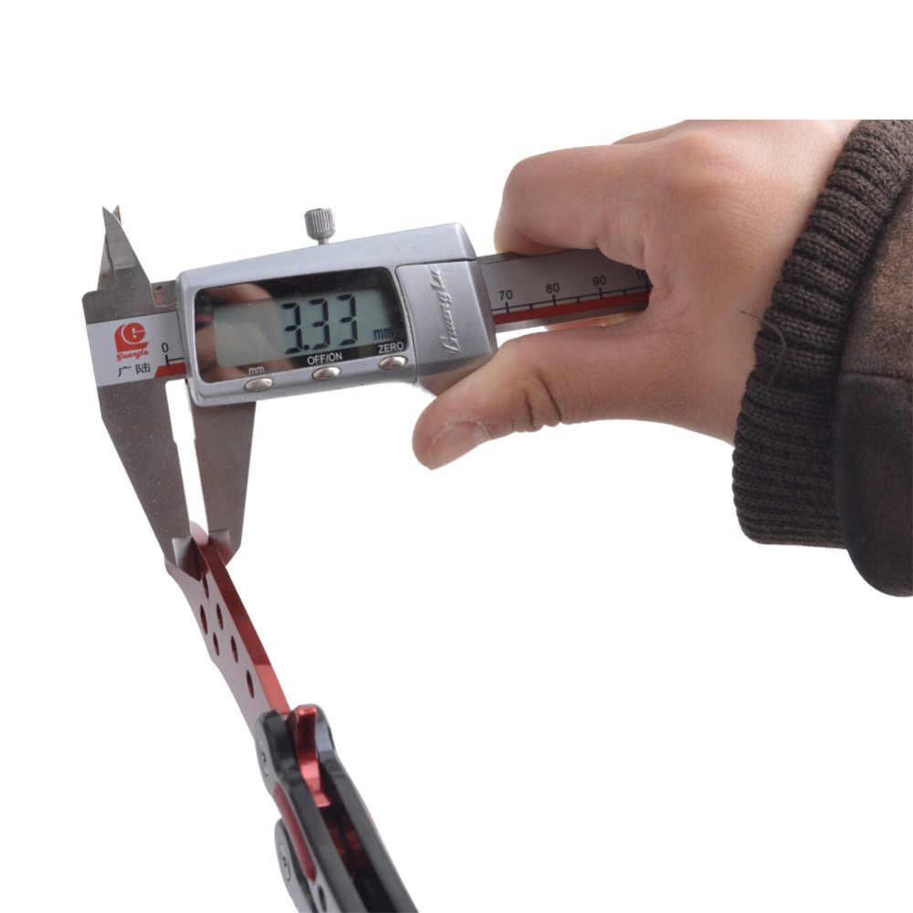Цветной игровой нож, тусклый нож без края, тренировочный нож-бабочка, тренировочный карманный нож для тренировок, CS GO Karambit
