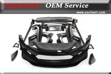 Car-Styling Full FRP Fiber Glass Bodykits Fit For 2012-2017 GT86 FT86 ZN6 FRS BRZ Greddy X Pandem Ver.3 Aero Style Wide Body Kit